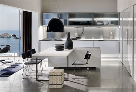 kitchen space modern italian kitchen design from arclinea