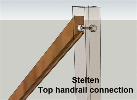 handrail fixings wooden handrail connectors