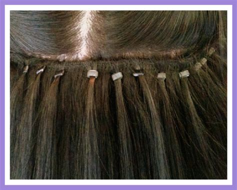 weft micro bead hair extensions micro bead weft