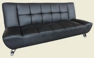Black Sofa Bed Lpd Vogue Sofa Bed Black Allans Furniture Warehouse