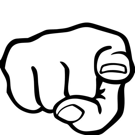 pointing finger clipart finger pointing something cliparts clipart best