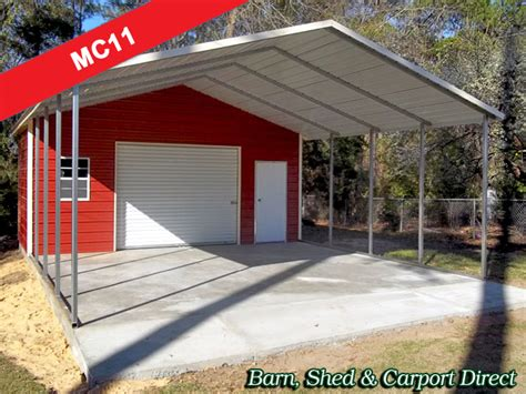Car Port Shed by Large Carport Utility Shed Combo 22 X 31 X 9 Mc11