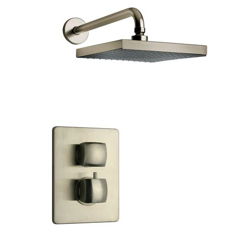 Brushed Nickel Shower System by Latoscana Brushed Nickel Shower System 2 Showerlapw2