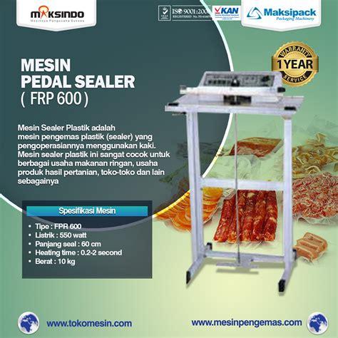 Jual Keranjang Plastik Di Surabaya jual mesin sealer plastik pedal sealer di surabaya toko mesin maksindo surabaya toko mesin