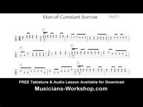 Mandolin Chords Man Of Constant Sorrow