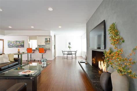 Modern Industrial Living Room by Modern Industrial Living Room Modern Living Room Los Angeles By Kcs Design