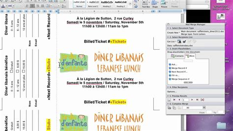 office max printable tickets template ms word ticket template