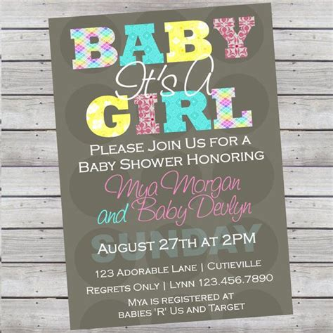 print your own baby shower invitations free print own invitations baby shower