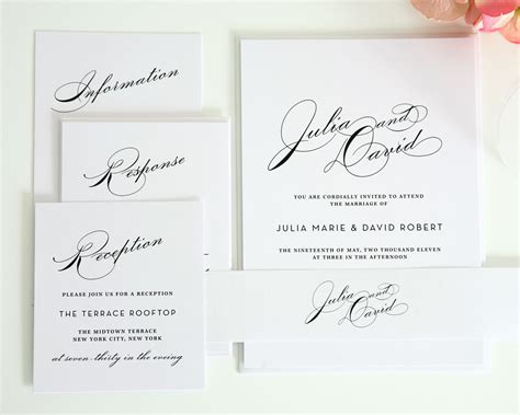 Esposa How To Make Diy Wedding Invitations Simple Wedding Card Template