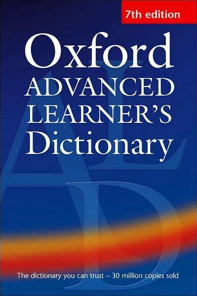 Oxford Advanced Leaners Dictionary sa haute