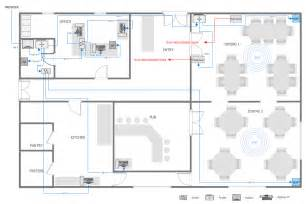 How To Make A Floor Plan On The Computer Network Layout Floor Plans How To Use House Electrical