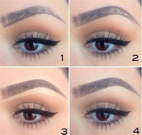 makeup eyebrows eyebrow tutorial step by step brows i also really