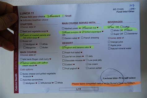 hospital menu template the importance of the food quality in the clinics and