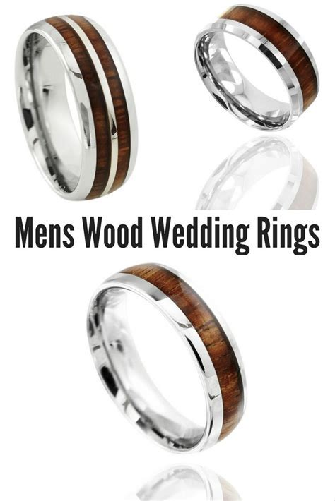 17 Best ideas about Unique Mens Wedding Bands on Pinterest