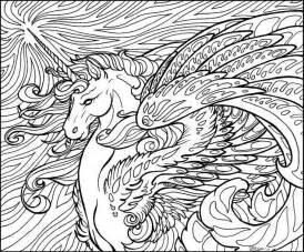 coloring 1 horses donkeys unicorns on horse coloring 15291
