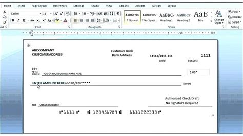 personal check template word 2003 check template word reference checks template check