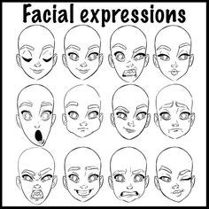 faces how to draw heads features expressions academy 1000 ideas about drawing expressions on how