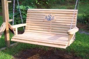 veranda schaukel wooden porch swing free shipping