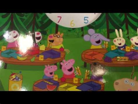 peppa s s day peppa pig books peppa pig book with clock quot peppa s busy day quot