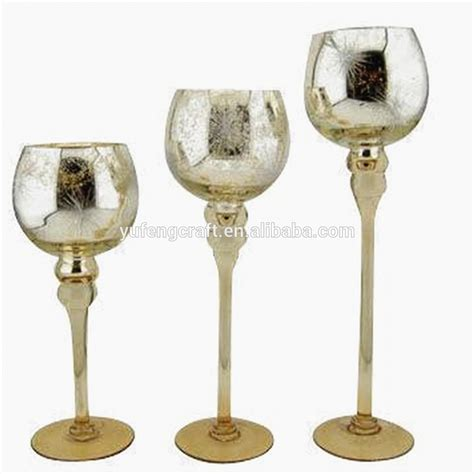 Buy Candlestick Holders Gold Mercury Goblet Candlestick Buy Gold