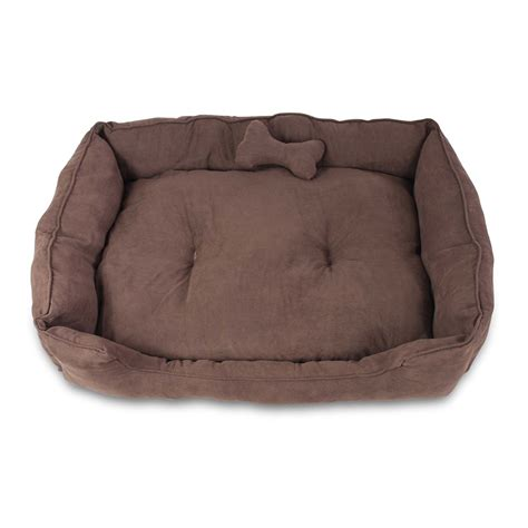 washable dog bed buy faux suede washable dog bed extra large online at