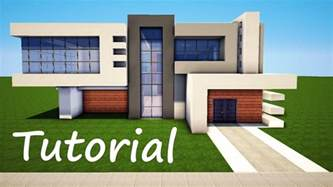 Modern Houses Minecraft Minecraft How To Build A Modern House Best Mansion 2016