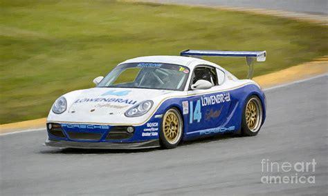Porsche Cayman Race Car For Sale by Porsche Cayman Lowenbrau Race Car Photograph By Tad Gage