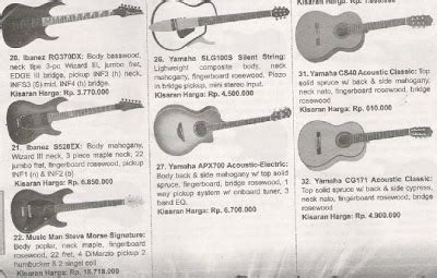 Harga Gitar Yamaha 150 Ribuan gitar grosir harga gitar