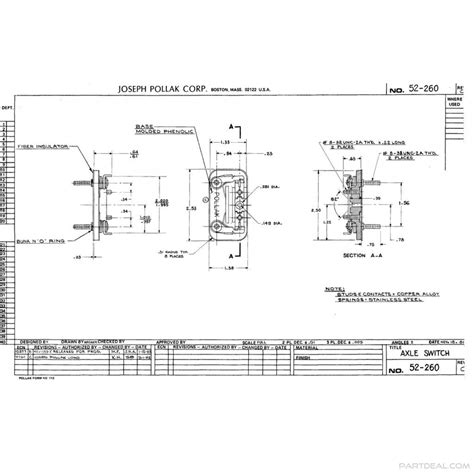 pollak switches wiring diagram pollak switches starter