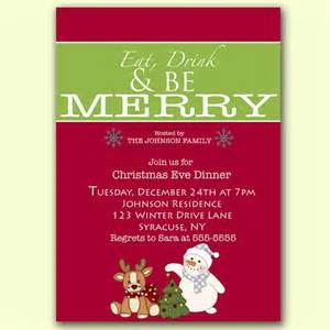 17 best images about christmas invitations on pinterest