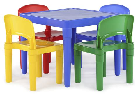 childrens plastic table and chairs bm tot tutors plastic table and 4 chairs set primary