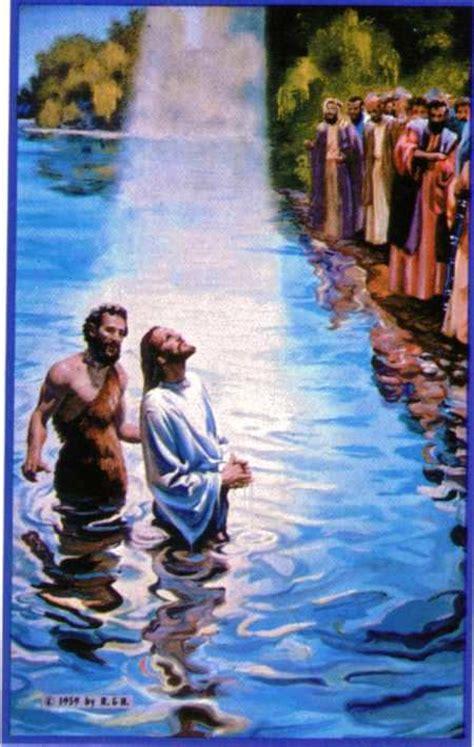 imagenes de jesus bautizado por juan jesus mc 1 9 bautismo de jess en el jordn por juan el