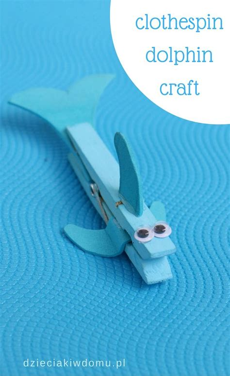 dolphin crafts for clothespin dolphin craft for animal crafts