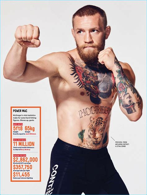 mcgregor tattoo mma fighter conor mcgregor the crush