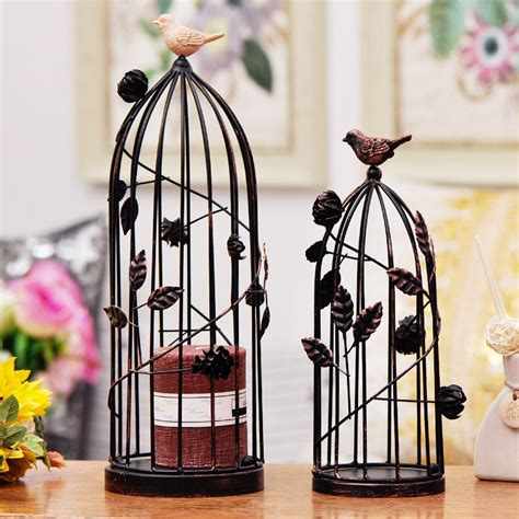 birdcage home decor iron black bird cage birdcage for wedding decoration and