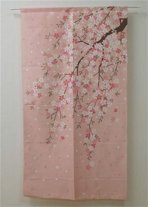 japanese noren curtains japanese noren curtain sakura cher 9894016