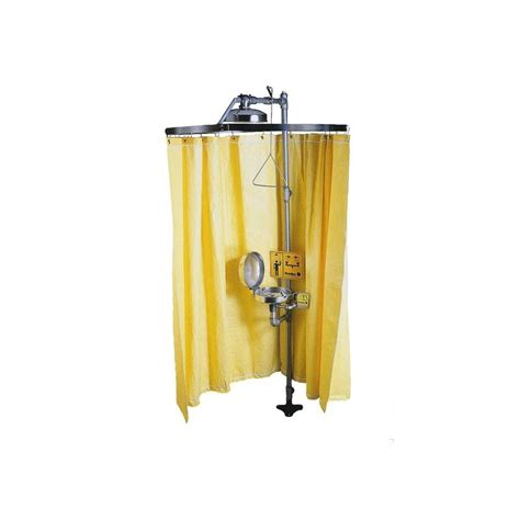 emergency shower curtain yellow emergency shower curtain 178 x 369 cm 70 x 145 in
