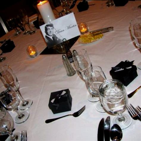 rat pack themed table numbers b r events the o jays table numbers and rats