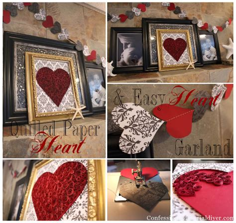 easy diy valentines decorations easy diy s day decor for less than 2
