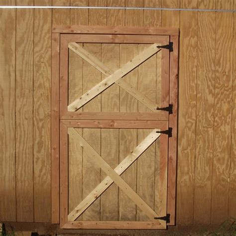 build dutch barn doors exterior barn doors