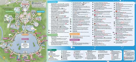 printable map epcot january 2016 walt disney world park maps photo 6 of 12