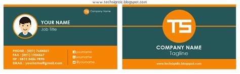 cara membuat kartu nama pribadi tutorial membuat kartu nama di coreldraw x7 techsigntic