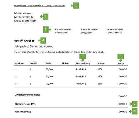 Musterschreiben Angebot Annehmen Angebot Muster Bzw Vorlage Kalkulation Angebote Erstellen Und Bewerten Angebote Neue Rezepte