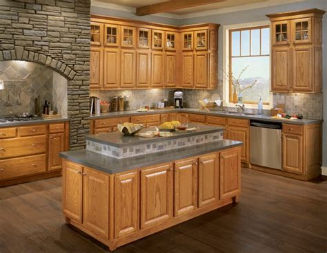 countertops for light oak cabinets light oak cabs with grey counter kitchen pinterest