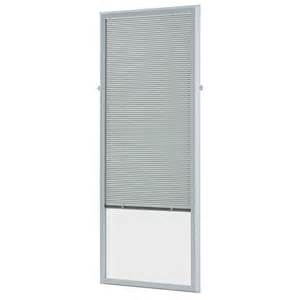 add on door blinds odl 20 in x 64 in add on enclosed aluminum blinds in