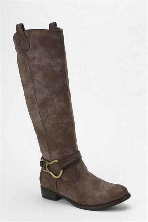 Wanted Faith Buckle Boots by Wanted Jockey Buckle Boot