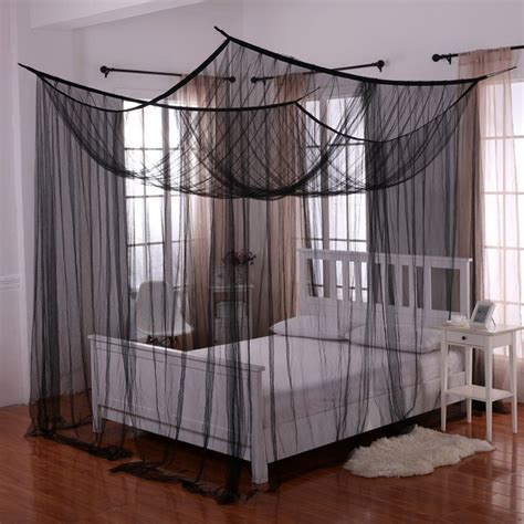 Bed Canopy by Palace Four Poster Bed Canopy Ebay