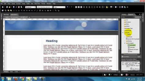 expression web tutorial youtube expression web tutorial add jquery accordion menu youtube