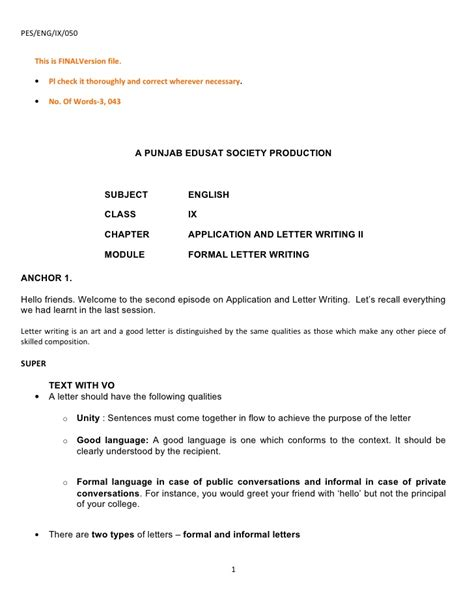 Request Letter Principal Letter Of Application Write An Application For Teaching In A School