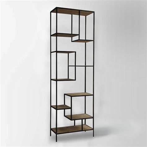 copy cat chic west elm reclaimed pine iron bookcase